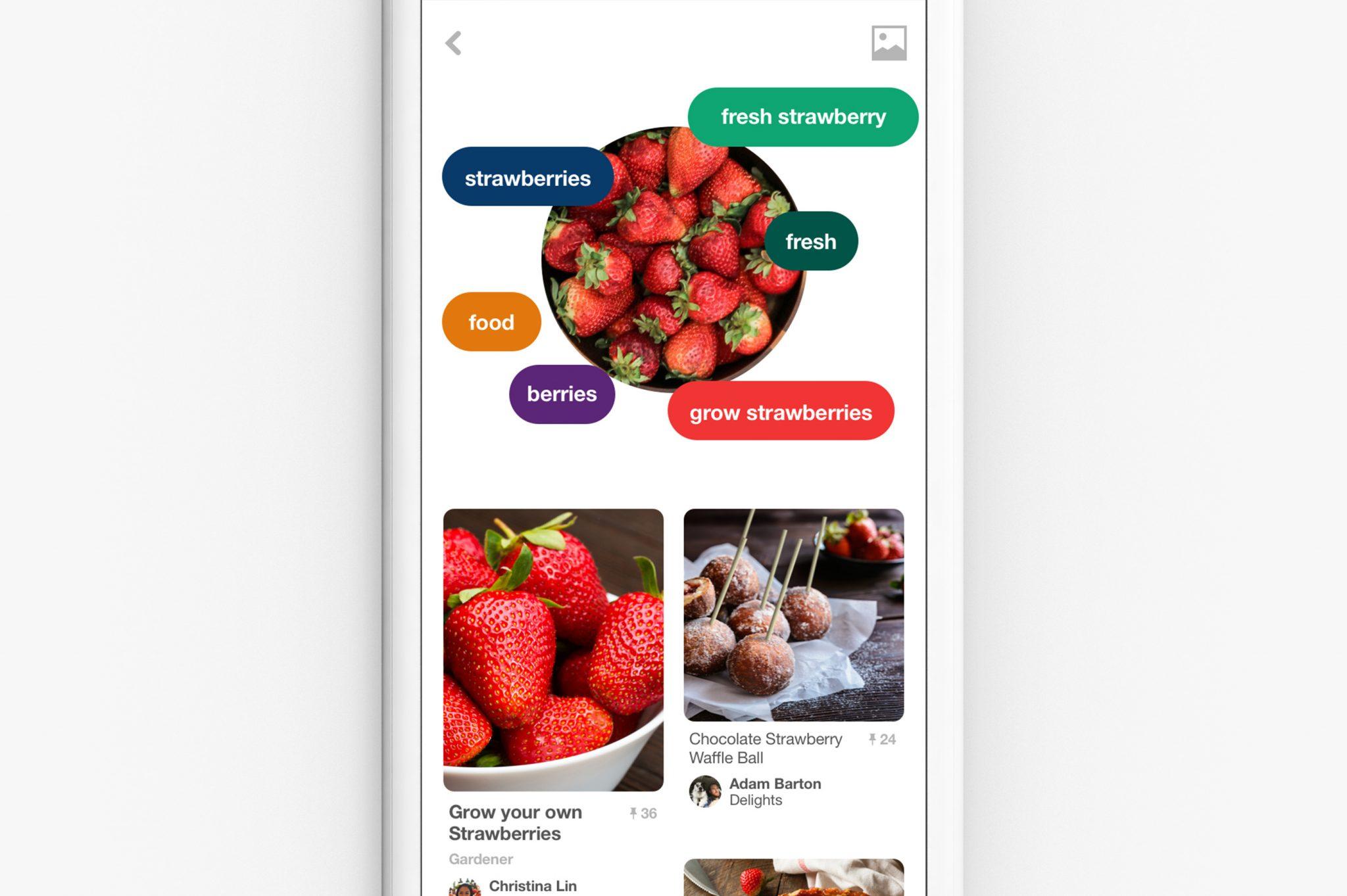 Pinterest Lens Kamera ile Yemekleri Tanıma Özelliği Ekledi