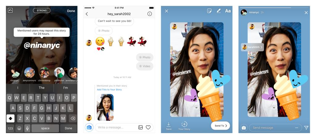 Instagram Hikayeler'de Repost Devri Başlıyor